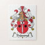 Escudo de la familia de Thummel Rompecabezas