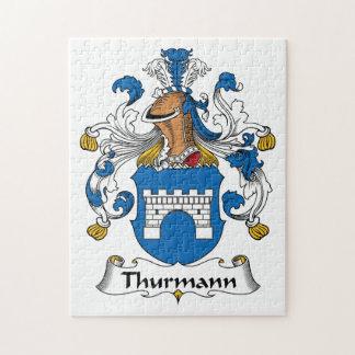 Escudo de la familia de Thurmann Puzzle Con Fotos