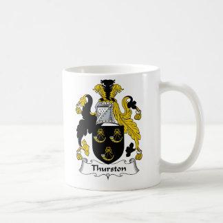Escudo de la familia de Thurston Taza
