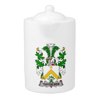 Escudo de la familia de Thygesen