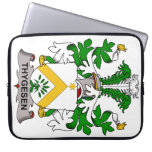 Escudo de la familia de Thygesen Funda Ordendadores