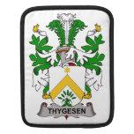 Escudo de la familia de Thygesen Funda Para iPads