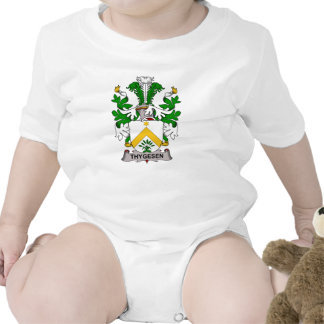 Escudo de la familia de Thygesen Traje De Bebé