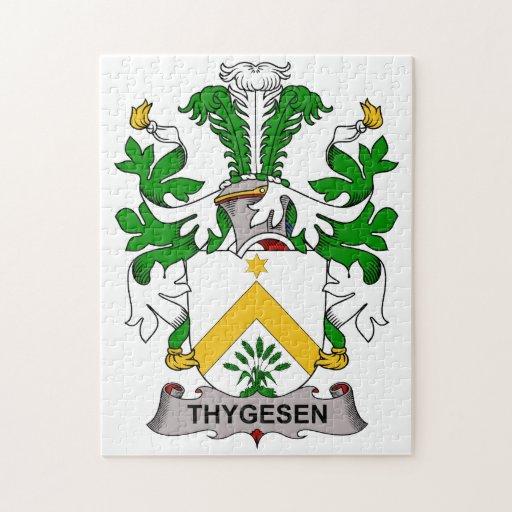 Escudo de la familia de Thygesen Puzzles