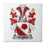 Escudo de la familia de Thymen Azulejos