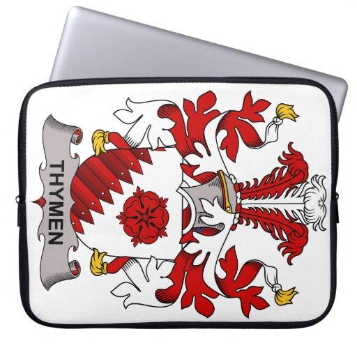 Escudo de la familia de Thymen Funda Computadora