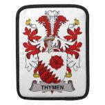 Escudo de la familia de Thymen Fundas Para iPads