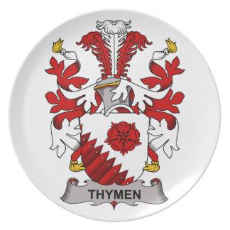 Escudo de la familia de Thymen Plato