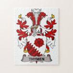 Escudo de la familia de Thymen Puzzles