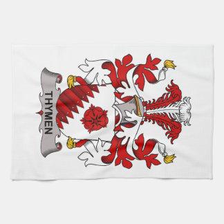 Escudo de la familia de Thymen Toalla