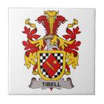 Escudo de la familia de Tibell Tejas