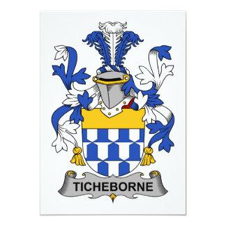 Escudo de la familia de Ticheborne Comunicado Personal
