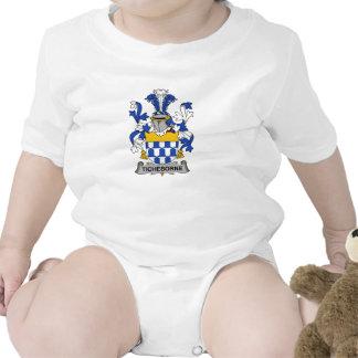 Escudo de la familia de Ticheborne Traje De Bebé