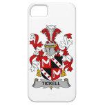 Escudo de la familia de Tickell iPhone 5 Case-Mate Cobertura