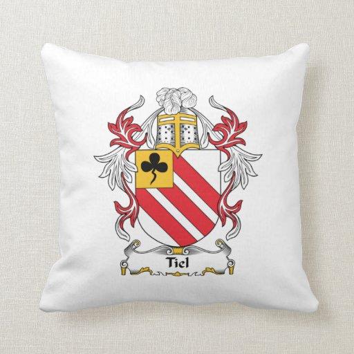 Escudo de la familia de Tiel Almohadas