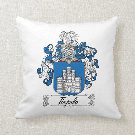 Escudo de la familia de Tiepolo Cojin
