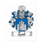 Escudo de la familia de Tiepolo Postales