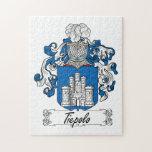 Escudo de la familia de Tiepolo Rompecabeza Con Fotos