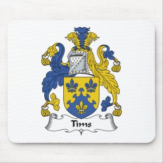Escudo de la familia de Tims Tapetes De Raton