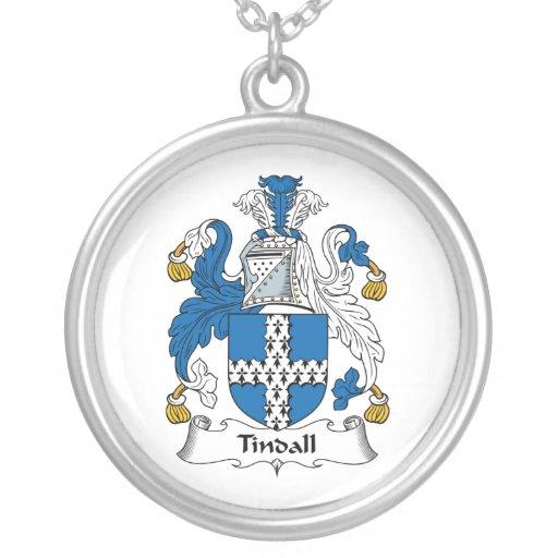 Escudo de la familia de Tindall Grímpola