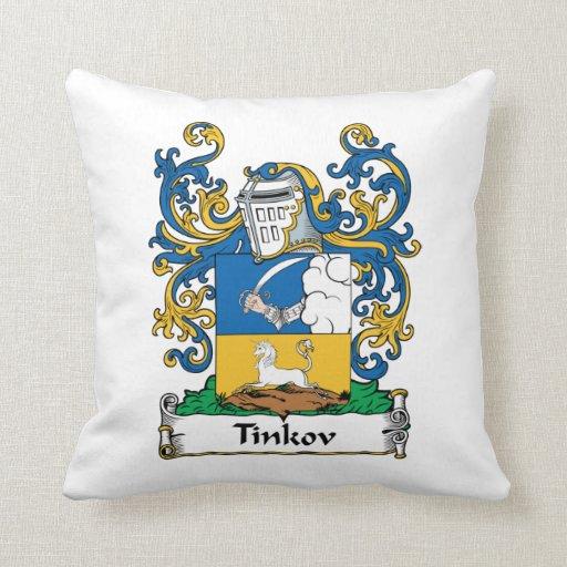 Escudo de la familia de Tinkov Almohada