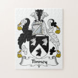 Escudo de la familia de Tinney Rompecabeza