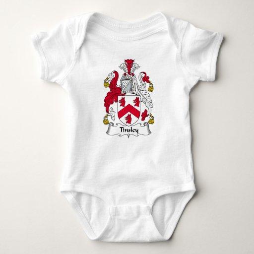 Escudo de la familia de Tinsley Tee Shirts