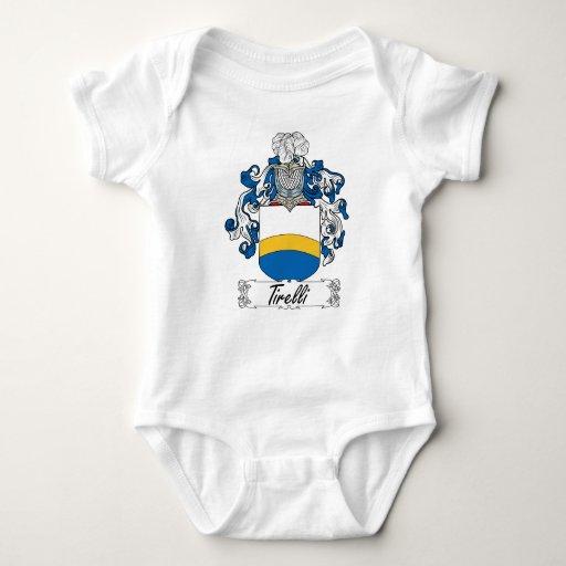 Escudo de la familia de Tirelli Body Para Bebé