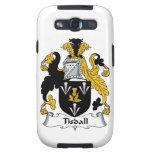 Escudo de la familia de Tisdall Galaxy S3 Carcasa