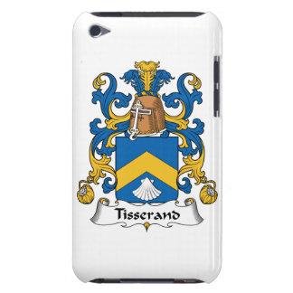 Escudo de la familia de Tisserand iPod Case-Mate Cárcasa