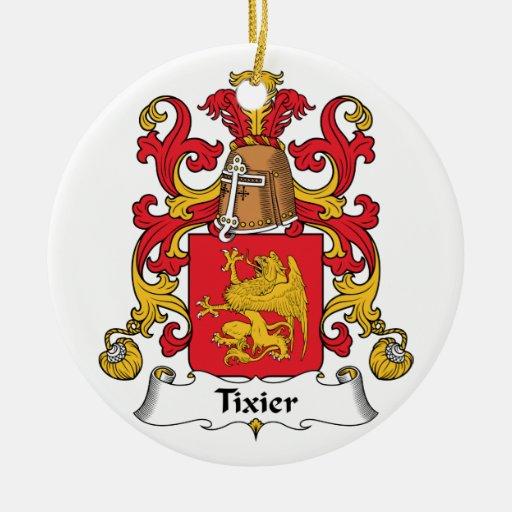 Escudo de la familia de Tixier Adorno