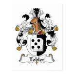 Escudo de la familia de Tobler Tarjetas Postales