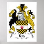 Escudo de la familia de Toby Impresiones