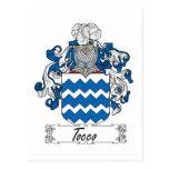 Escudo de la familia de Tocco Postales