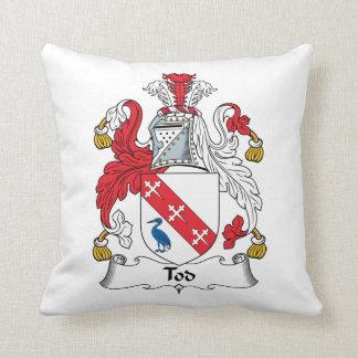 Escudo de la familia de Tod Cojín
