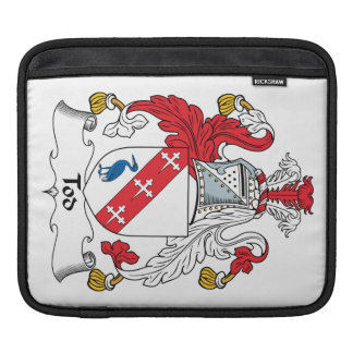 Escudo de la familia de Tod Funda Para iPads