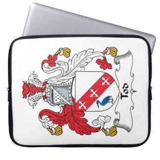 Escudo de la familia de Tod Fundas Ordendadores