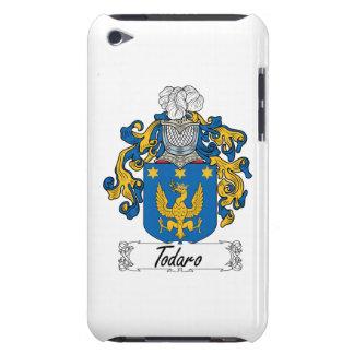 Escudo de la familia de Todaro iPod Touch Fundas
