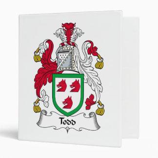 Escudo de la familia de Todd