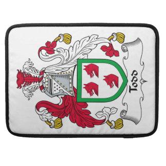 Escudo de la familia de Todd Funda Macbook Pro