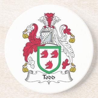 Escudo de la familia de Todd Posavasos Manualidades