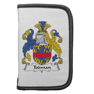 Escudo de la familia de Todman Planificadores