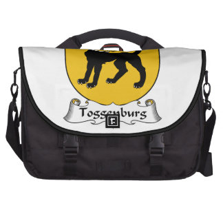 Escudo de la familia de Toggenburg Bolsas De Portátil