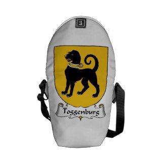 Escudo de la familia de Toggenburg Bolsa De Mensajeria