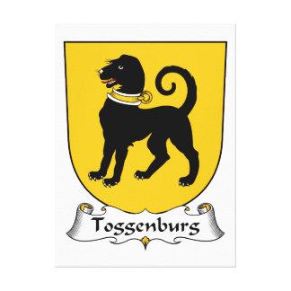 Escudo de la familia de Toggenburg Lienzo Envuelto Para Galerias