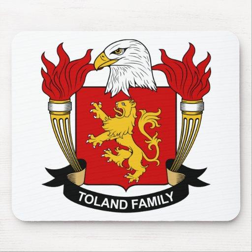 Escudo de la familia de Toland Tapete De Raton