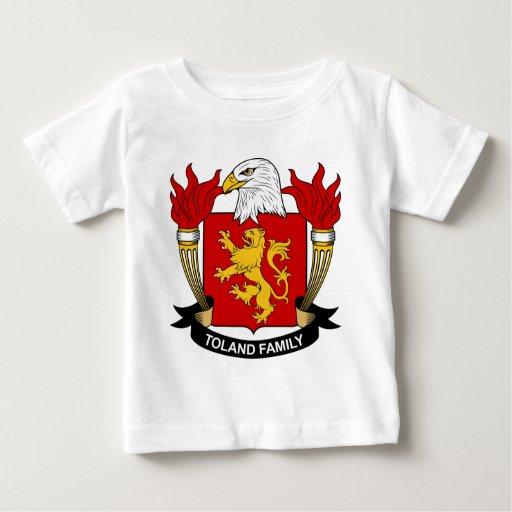 Escudo de la familia de Toland Tee Shirts