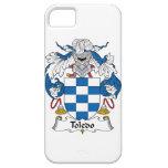 Escudo de la familia de Toledo iPhone 5 Case-Mate Cárcasas