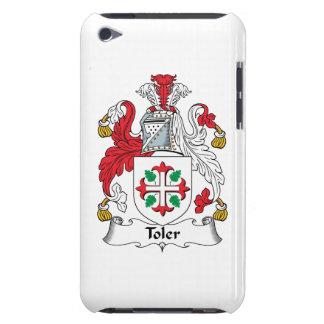 Escudo de la familia de Toler Case-Mate iPod Touch Coberturas