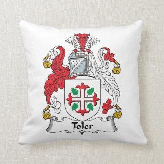 Escudo de la familia de Toler Cojines